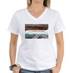 Mesaba Iron Range Women's V-Neck T-Shirt