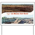 Mesaba Iron Range Yard Sign