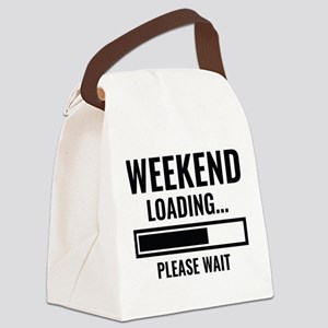Weekend Loading Canvas Lunch Bag