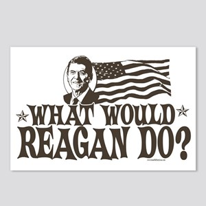 What Would Reagan Do Postcards (Package of 8)
