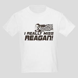 I Miss Reagan Kids Light T-Shirt