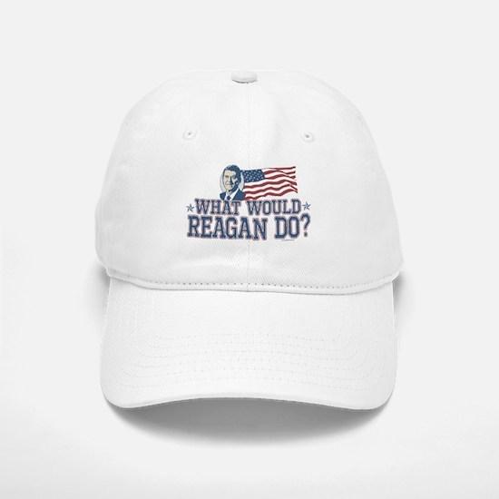 What Would Reagan Do Baseball Baseball Cap