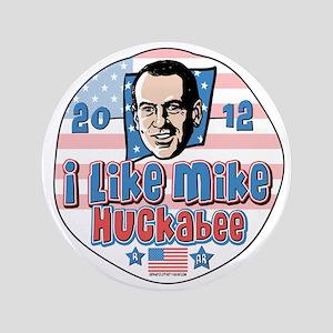 """Mike Huckabee 2012 3.5"""" Button"""