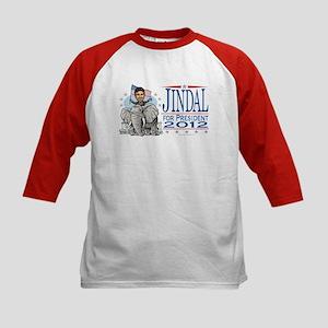 Jindal GOP Elephant Kids Baseball Jersey
