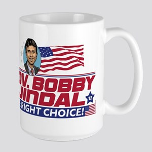 Bobby Jindal Right Choice Large Mug