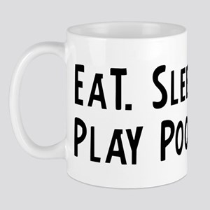 Eat, Sleep, Play Pool Mug