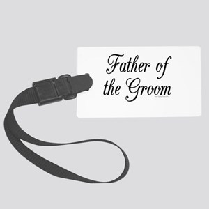 fatherOfTheGroom copy Luggage Tag