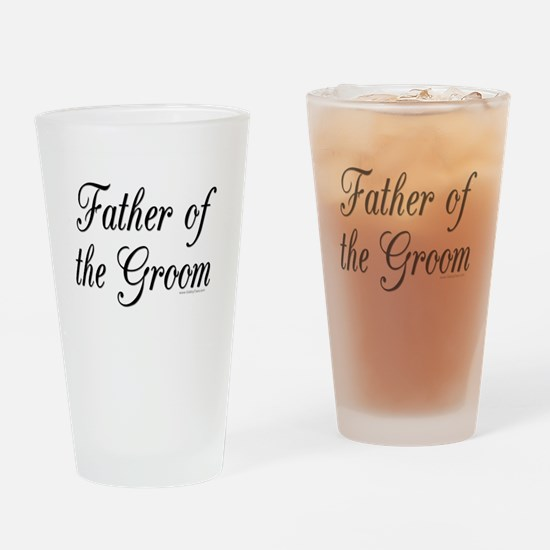 fatherOfTheGroom copy.jpg Drinking Glass
