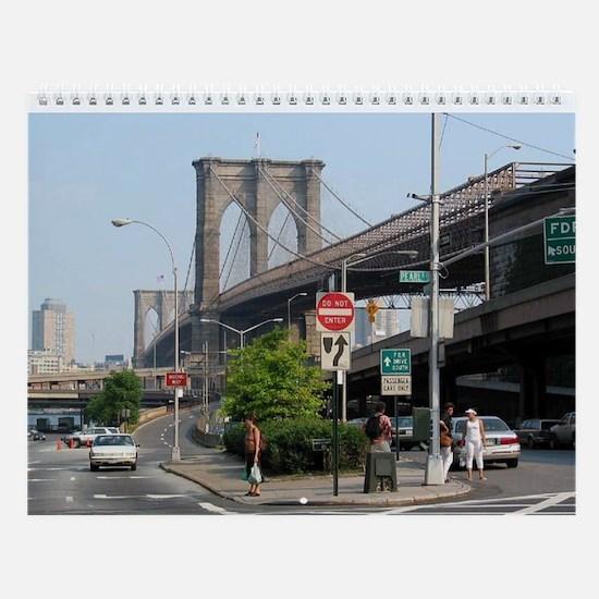 NYC Sites Wall Calendar