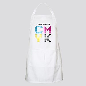 Dream In CMYK BBQ Apron