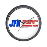 JFK's Warning of NWO Wall Clock