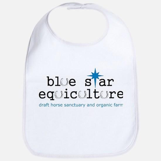 Blue Star Logo Bib