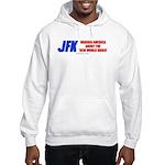 JFK's Warning of NWO Hooded Sweatshirt