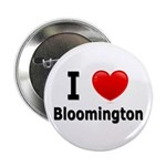 "I Love Bloomington 2.25"" Button"