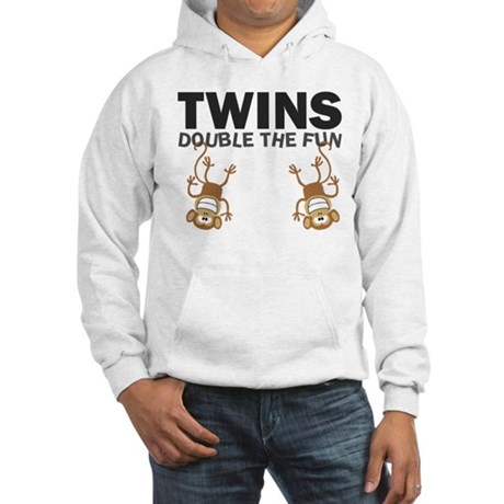 TWINS: Double The Fun Hooded Sweatshirt