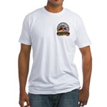 Fall of the Wall Fitted T-Shirt