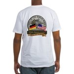 Berlin Wall 2-Side Fitted T-Shirt