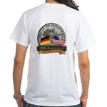 Berlin Wall 2-Side White T-Shirt