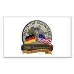 Fall of the Wall Rectangle Sticker 10 pk)