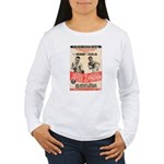 Joyce/Pynchon - Women's Long Sleeve T-Shirt