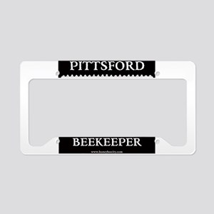 Pittsford Beekeeper License Plate Holder