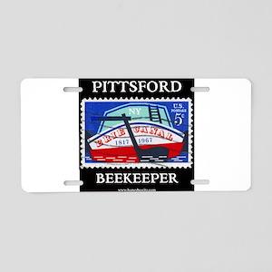 Pittsford Beekeeper Aluminum License Plate