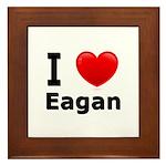 I Love Eagan Framed Tile