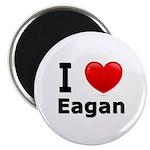 I Love Eagan Magnet