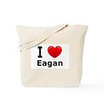I Love Eagan Tote Bag