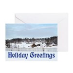 DixPix Rural Winter Greeting Cards (Pk of 10)