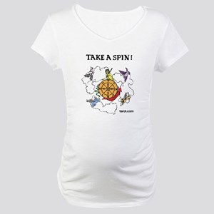 Take a Spin Maternity T-Shirt