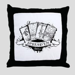 Spread 'Em Throw Pillow