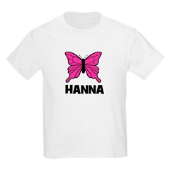 Butterfly - Hanna Kids T-Shirt