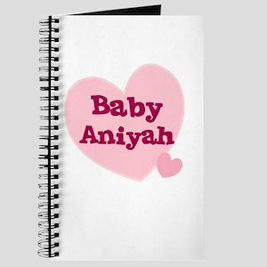 Baby Aniyah Journal