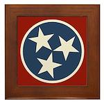Tennessee State Stars Framed Tile