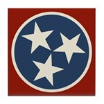 Tennessee State Stars Tile Coaster