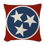 Tennessee State Stars Woven Throw Pillow