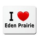 I Love Eden Prairie Mousepad