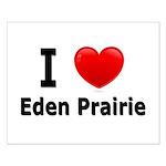 I Love Eden Prairie Small Poster