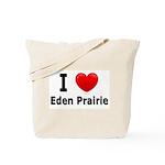 I Love Eden Prairie Tote Bag