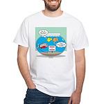 Piranha Guard Fish Men's Classic T-Shirts