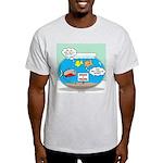 Piranha Guard Fish Light T-Shirt