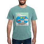 Piranha Guard Fish Mens Comfort Colors® Shirt