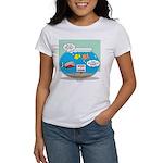 Piranha Guard Fish Women's Classic T-Shirt