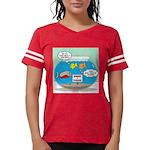 Piranha Guard Fish Womens Football Shirt