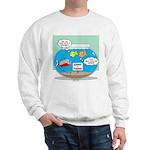 Piranha Guard Fish Sweatshirt
