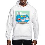 Piranha Guard Fish Hooded Sweatshirt