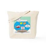 Piranha Guard Fish Tote Bag