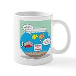 Piranha Guard Fish 11 oz Ceramic Mug