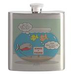 Piranha Guard Fish Flask